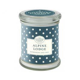 Country Candle Vonná svíčka ve skle s víčkem Odpočinek v Alpách (Alpine Lodge) 848 g