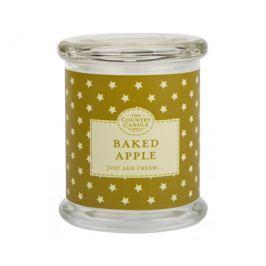 Country Candle Vonná svíčka ve skle s víčkem Pečené jablko (Baked Apple) 848 g