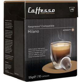 Caffesso kávové kapsle Milano, intenzita 9, (10 kapslí)