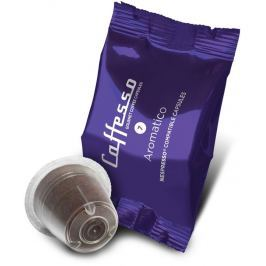 Caffesso kávové kapsle Aromatico, intenzita 7, (10 kapslí)