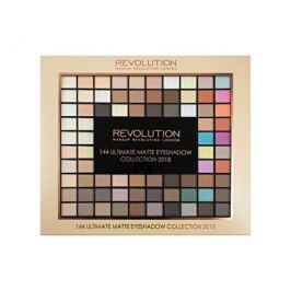 Makeup Revolution Paletka 144 matných očních stínů (Ultimate Matte Eye Shadow Collection 2018) 116 g