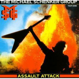 Michael Schenker : Assault Attack / Picture Lp LP