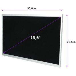 Qoltec LED 15.6'' 1366*768 GLOSSY Slim - 30Pin, GRADE A+