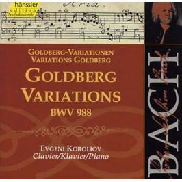 CD Johann Sebastian Bach : Goldberg-Variationen