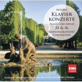CD Mozart - Zaharia: Klavírní Koncerty 25 & 26
