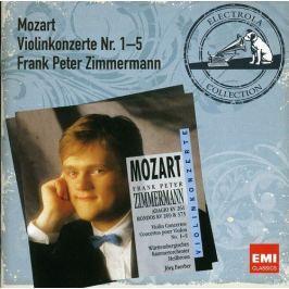 CD Wolfgang Amadeus Mozart : Violin Concertos No.1-5