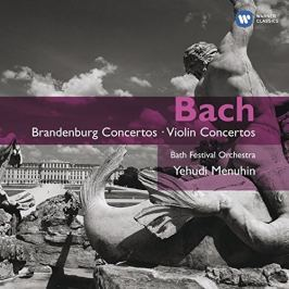 CD J.S. Bach : Brandenburg Concertos & Violin Concertos