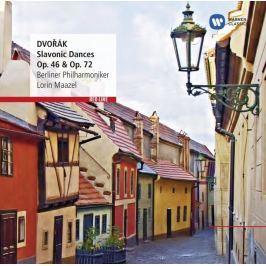 CD Antonín Dvořák : Slovanic Dances Op.46 & 72 (Lorin Maazel)