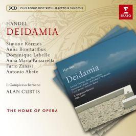 CD Georg Friedrich Händel : Deidamia +Cdrom