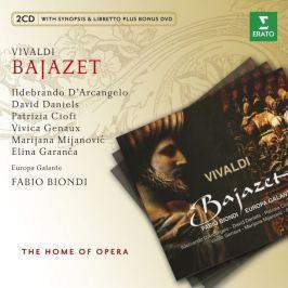 CD Antonio Vivaldi : Bajazet +Cdrom