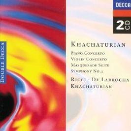 CD Aram Khachaturian : Piano Concerto & Violin Concerto