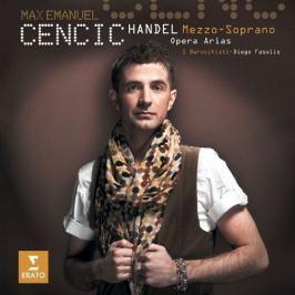 CD Max Emanuel Cencic : Handel - Mezzo Soprano Opera Arias