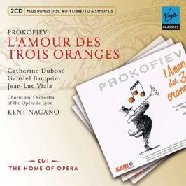 CD Prokofiev - Nagano : The Love for Three Oranges