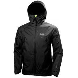 Helly Hansen Pánská softhellová bunda  LOKE SAGA JACKET 2017, M, Černá - 990 black