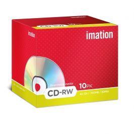 Imation CD-RW  80 min. 4-12x jewel box, 10ks/pack