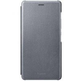 Huawei Pouzdro na mobil flipové  P9 Lite Flip Cover - šedé