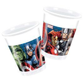 Plastové kelímky Avengers 200 ml