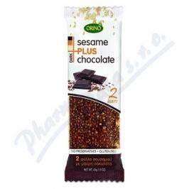 CRETAMEL Sesame + Chocolate 45g - sezam a čokoláda