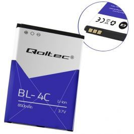 Qoltec Battery for Nokia BL-4C, 850mAh