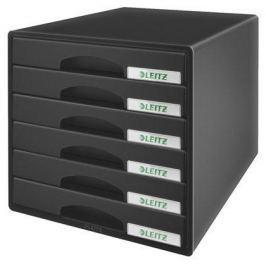 LEITZ Zásuvkový box  Plus, Černá
