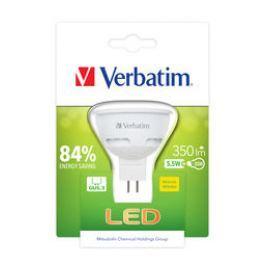 Verbatim LED žárovka, teplá bílá, MR16, GU5.3, 350lm, 5,5W, 2700K,
