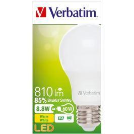 Verbatim LED žárovka , E27 8,8W 810lm (60W), typ A, matná, teplá bílá