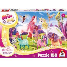 SCHMIDT Třpytivé puzzle Mia a já 150 dílků