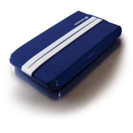 """Verbatim HDD 2.5"""" 1TB USB 3.0 GT SuperSpeed modrý s bílými pruhy, Green Button, externí h"""