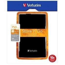 Verbatim Store 'n' Go 750GB externí HDD 2.5'', USB 3.0, černý