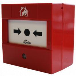 55200-908APO XP95 červený tlačítkový hlásič s izolátorem včetně zadního krytu