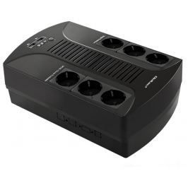 Qoltec Surge protector  | 6 power socket | 850VA | 510W | 2xUSB