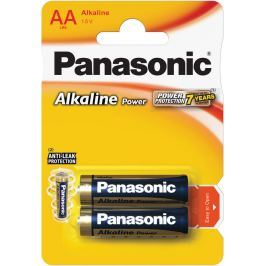 Panasonic LR6 2BP AA Alk Power alk