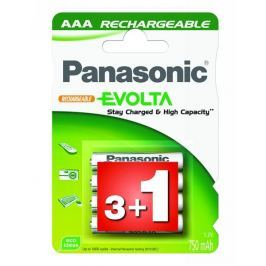 Panasonic Baterie nabíjecí  R03 EVOLTA, 750NiMH, P03E/4BC
