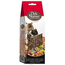 Deli Nature SNACK SMALL RODENTS-FRUIT MIX 80g
