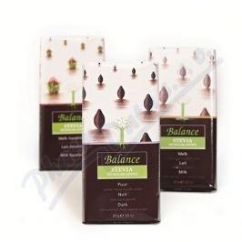KLINGELE CHOCOLADE Balance Hořká čokoláda se stévií bez cukru 85g