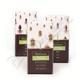KLINGELE CHOCOLADE Balance Mléčná čokol.se stévií b.cukru lísk.oř.85g