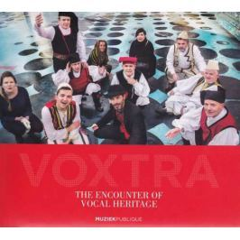 CD Encouter Of Vocal Heritage : Voxtra