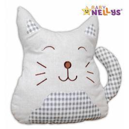 Baby Nellys Mazlík, polštářek Kočička - velká