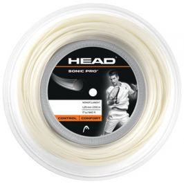 Head Tenisový výplet  Sonic Pro White (200 m), 1,25 mm