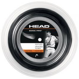 Head Tenisový výplet  Sonic Pro Black (200 m), 1,25 mm