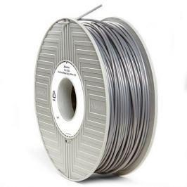 Verbatim Vlákno PLA pro 3D tiskárny, šedo-stříbrná kovová, 2,85 mm, 1kg, cívka,