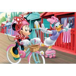 Trefl Dětské puzzle  54 dílků - Minnie a Daisy na zmrzlině