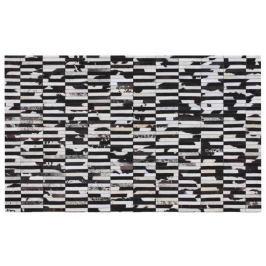 Tempo Kondela Luxusní koberec, kůže, typ patchworku, 69x140 cm, KOBEREC KOŽA typ6