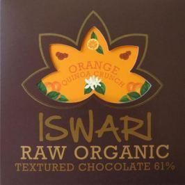 Iswari Raw čokoláda - Orange Quinoa Crunch 75 g BIO