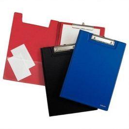 ESSELTE Podložka na psaní se zakrývací deskou, modrá, A4,
