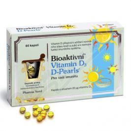 PHARMA NORD Bioaktivní Vitamin D3 D Pearls cps.80