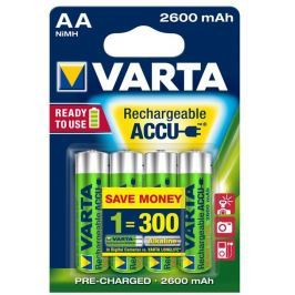 Varta battery R6 2600 mAh 4pcs proffesional ready 2 use