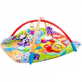 Kidsee Vzdělávací hrací deka 3v1 ,110x110cm - Animals