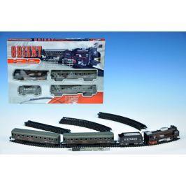 Dromader Orient Vlak + 3 vagóny délka dráhy 280cm na baterie se světlem v krabici