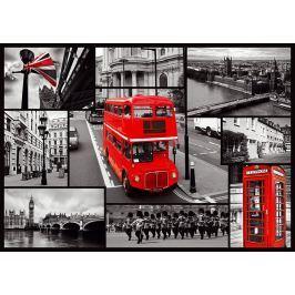 TREFL Puzzle  1000 dílků - Londýn - koláž